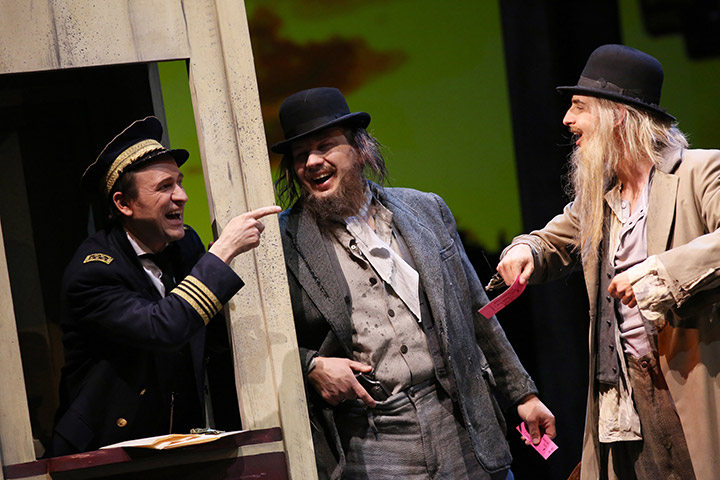 Show Boat Reinwald Kranner, Jochen Bohnen, Oliver Liebl © Reinhard Winkler