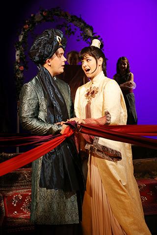 Die arabische Prinzessin Sven Hjörleifsson und Elisabeth Breuer © Reinhard Winkler