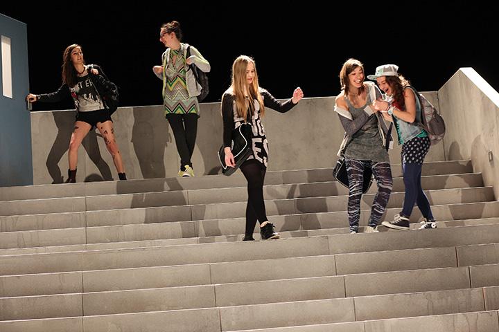 Siebzehn Flora Besenbäck, Sophie Kirsch, Linda Pichler, Lena Plochberger, Adelina Nita © Christian Brachwitz