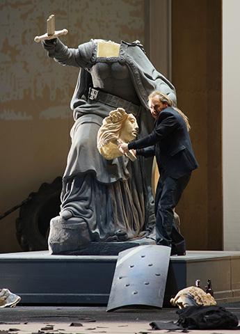 Siegfried - Der Ring des Nibelungen Lars Cleveman © Karl Forster