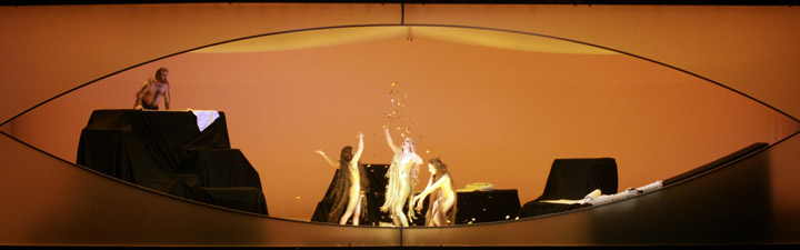 Das Rheingold Oskar Hillebrandt, Mari Moriya, Gotho Griesmeier, Valentina Kutzarova © Karl und Monika Forster