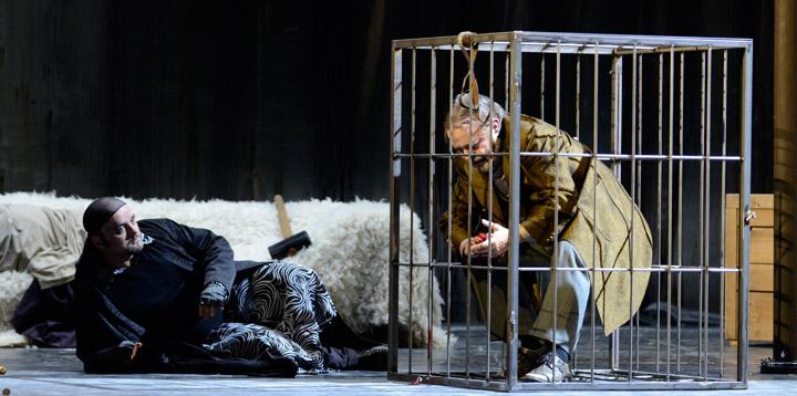 Das Rheingold Michael Bedjai, Oskar Hillebrandt © Karl und Monika Forster