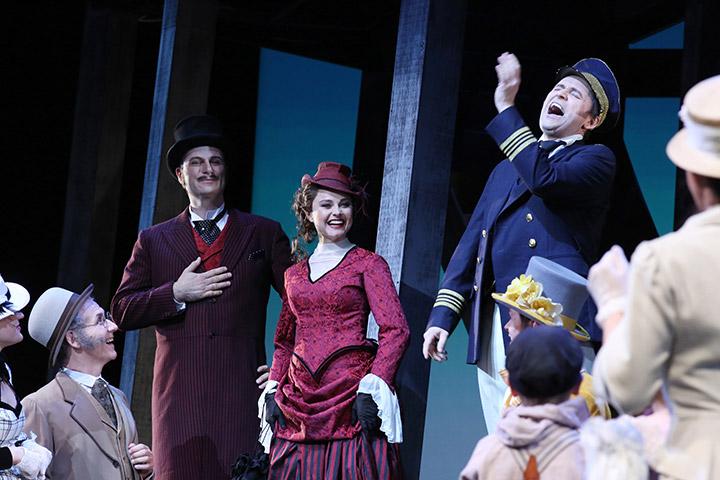 Show Boat Peter-Andreas Landerl, Daniela Dett, Reinwald Kranner © Reinhard Winkler