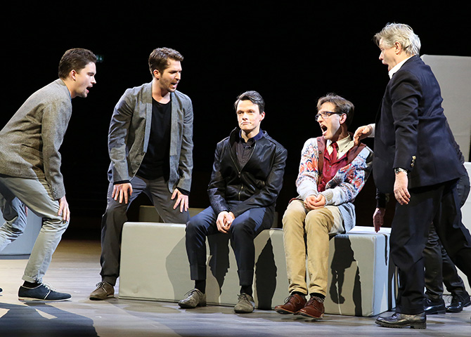 Company Konstantin Zander, Riccardo Greco, Rob Pelzer, Alen Hodzovic, Alfred Rauch © Reinhard Winkler
