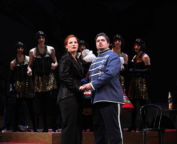 Die Csárdásfürstin  Bea Robein, Jacques le Roux, Ballett © Christian Brachwitz