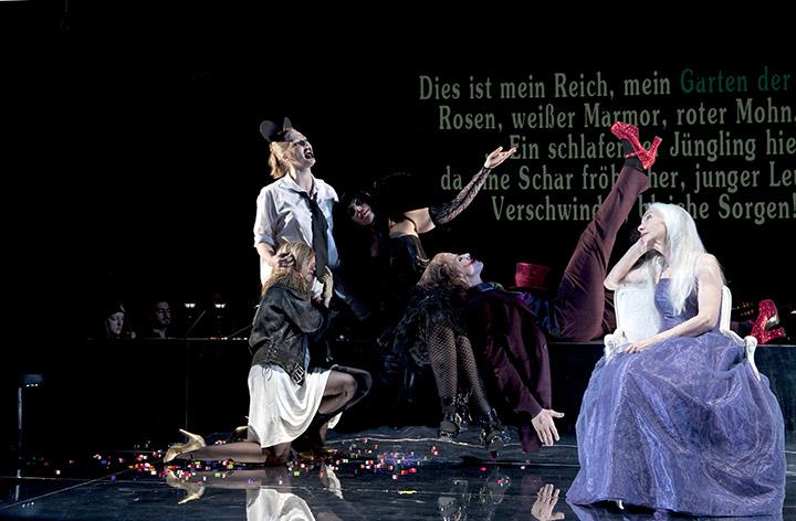 Il Trionfo del Tempo e del Disinganno Silke Redhammer, Ilia Vierlinger, Kerstin Eder, Markus Stumpner, Irmgard Paulis © Yasmina Haddad