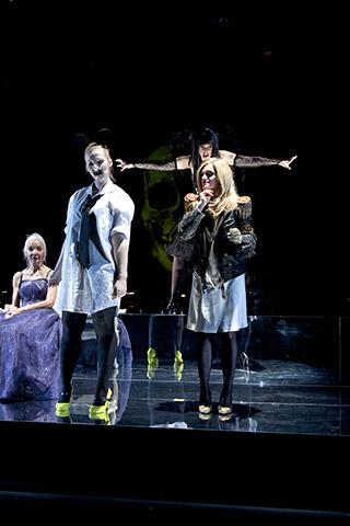 Il Trionfo del Tempo e del Disinganno Irmgard Paulis, Silke Redhammer, Kerstin Eder, Ilia Vierlinger © Yasmina Haddad