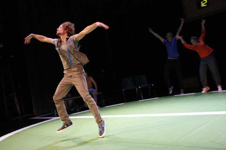 Theatersport Wenzel Brücher, Markus Pendzialek, Katharina Stehr © Reinhard Winkler