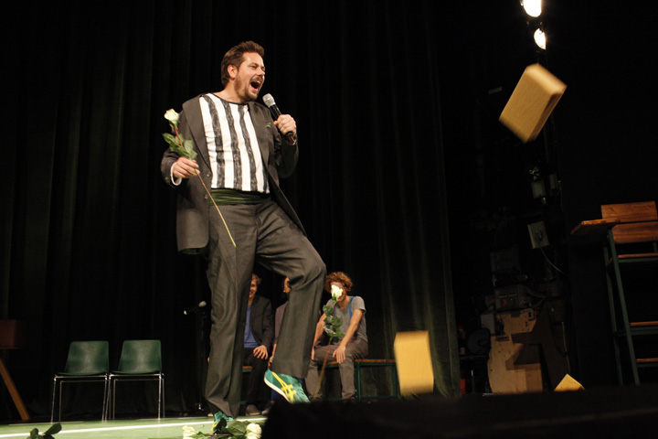 Theatersport John F. Kutil © Reinhard Winkler