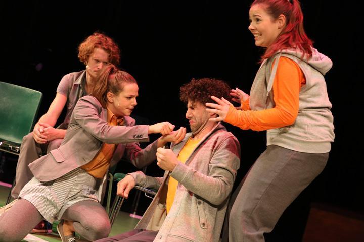 Theatersport Wenzel Brücher, Sabrina Rupp, Manuel Klein, Katharina Stehr © Reinhard Winkler