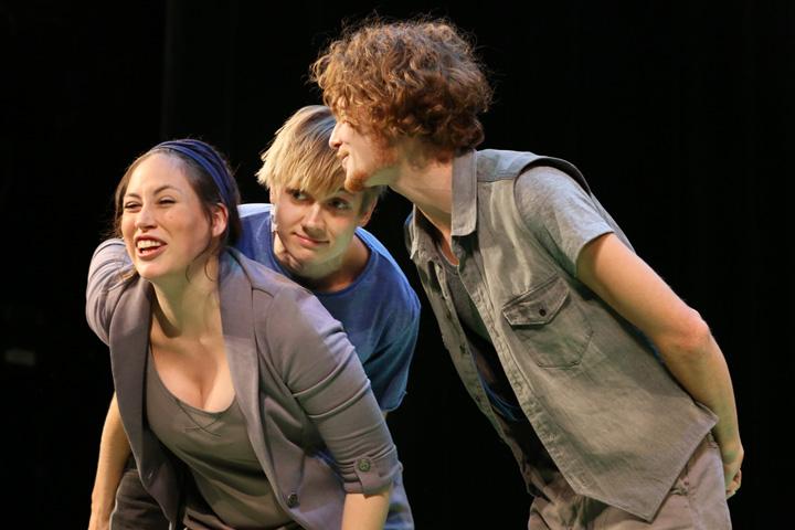 Theatersport Angela Šmigoc, Markus Pendzialek, Wenzel Brücher © Reinhard Winkler