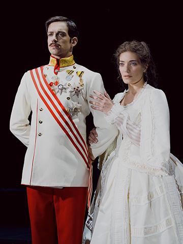 Elisabeth – Das Musical Maximilian Mann, Roberta Valentini © Labelle Juliane Bischoff