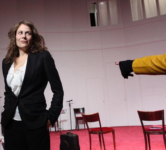 Der (eingebildete) Frauenfeind Anna Eger © Christian Brachwitz