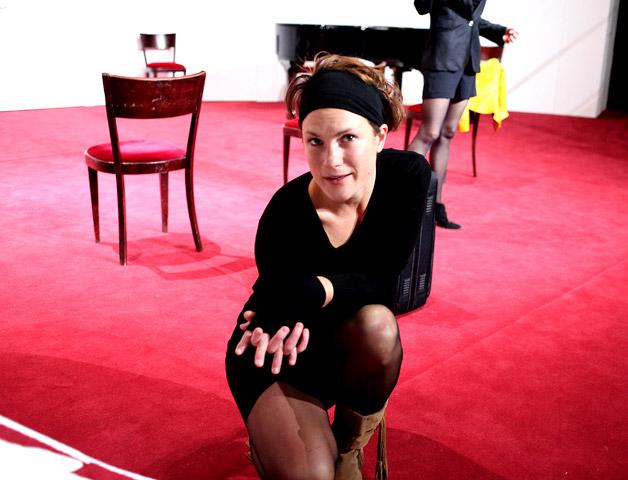 Der (eingebildete) Frauenfeind Katharina Vötter © Christian Brachwitz