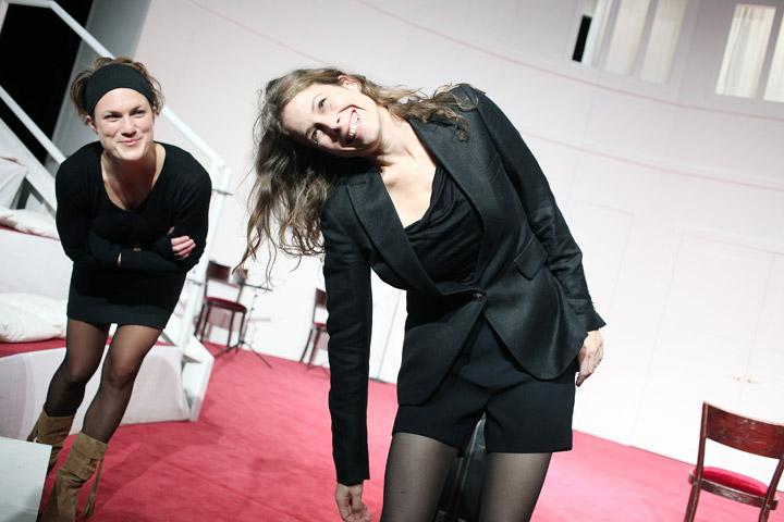 Der (eingebildete) Frauenfeind Katharina Vötter, Anna Eger © Christian Brachwitz