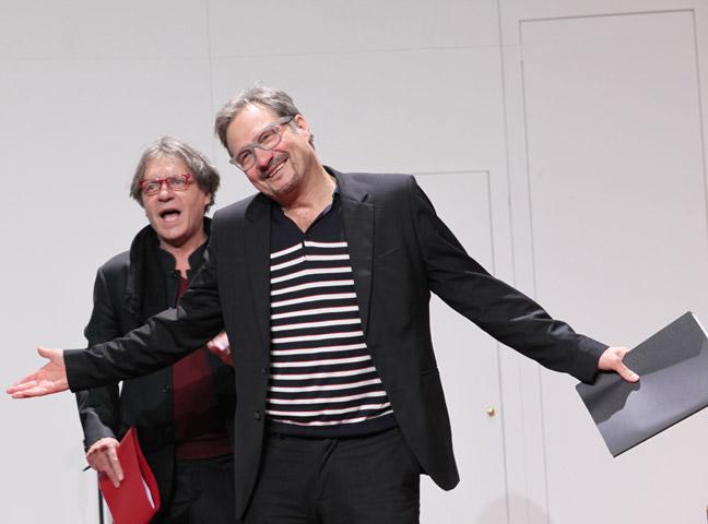 Der (eingebildete) Frauenfeind Helmut Berger, Lutz Zeidler © Christian Brachwitz
