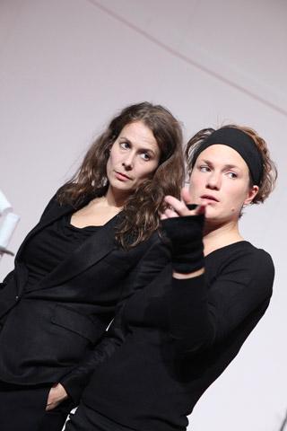 Der (eingebildete) Frauenfeind Anna Eger, Katharina Vötter © Christian Brachwitz