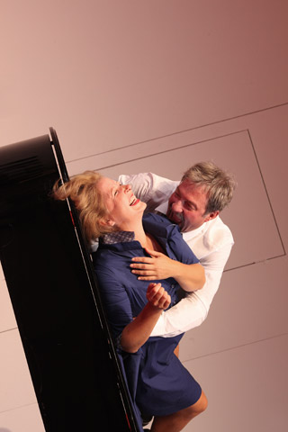 Der (eingebildete) Frauenfeind Katharina Hofmann, Lutz Zeidler © Christian Brachwitz
