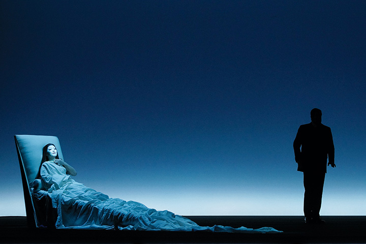 La Traviata Myung Joo Lee und Dominik Nekel © Olaf Struck