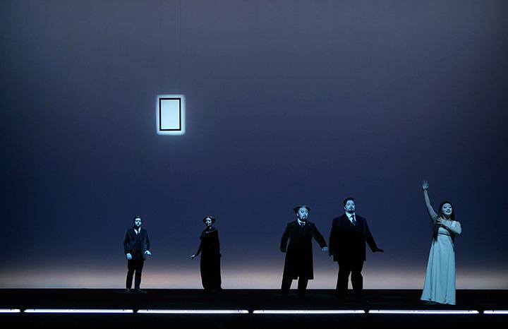 La Traviata Dominik Nekel, Kerstin Eder, Seho Chang, Jacques le Roux © Olaf Struck