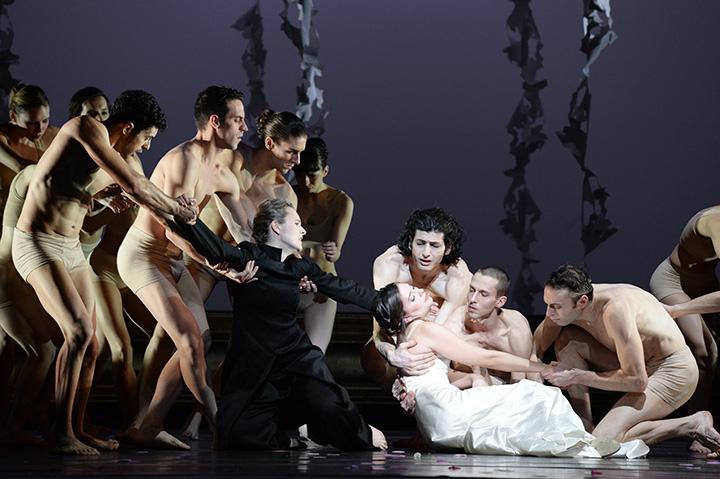 Orfeo ed Euridice  Ensemble © Barbara Aumüller