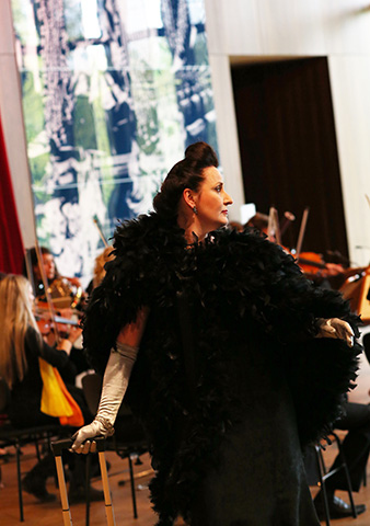 Der Operndirektor  Christa Ratzenböck © Reinhard Winkler