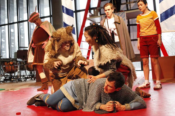 Lynx, der Luchs Hans-Günther Müller, Pedro Velázquez Díaz, Mari Moriya, Martin Achrainer, Sven Hjörleifsson, Elisabeth Breuer © Reinhard Winkler