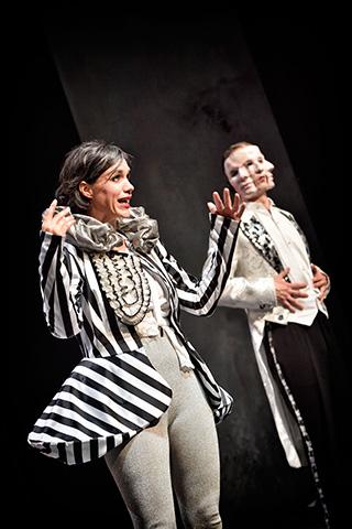 Zirkus Pirandello Gunda Schanderer, Björn Büchner © Patrick Pfeiffer