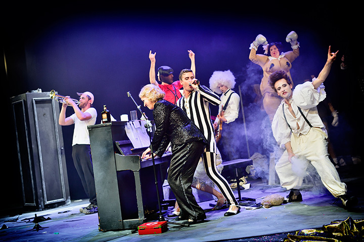 Zirkus Pirandello Ensemble © Patrick Pfeiffer