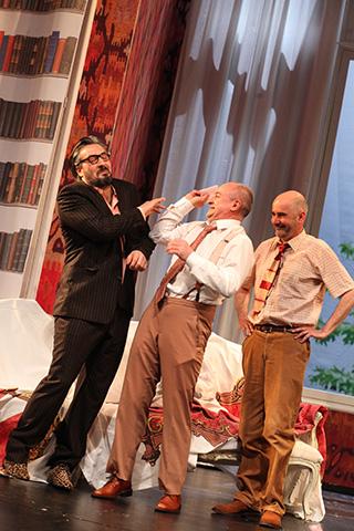 Floh im Ohr Lukas Spisser, Vasilij Sotke, Sebastian Hufschmidt © Christian Brachwitz