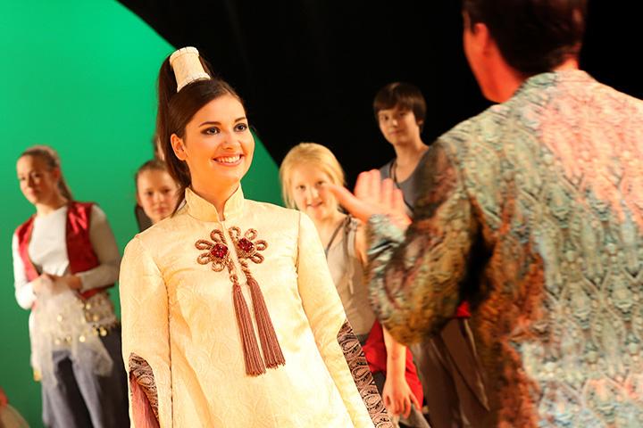Die arabische Prinzessin  Fenja Lukas, Kinderchor © Reinhard Winkler