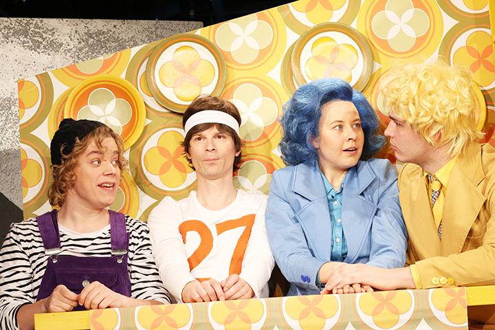 Franzgeschichten Tobias Eiselt, Matthias Hacker, Julia Carina Wachsmann, Christopher Goetzie © Reinhard Winkler