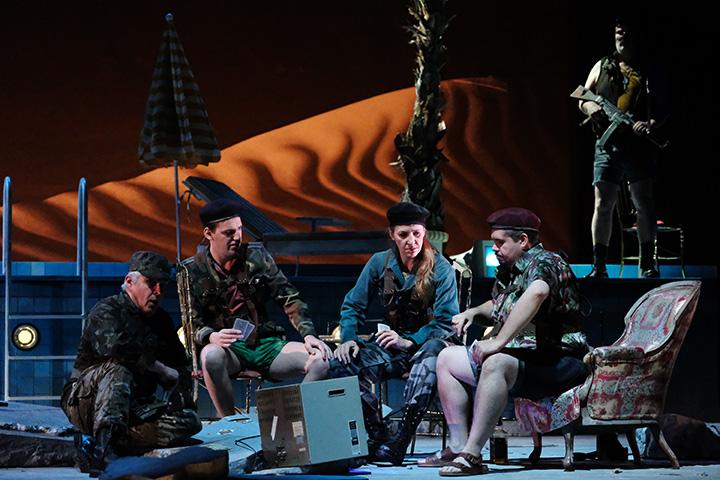 Salome  Nikolai Galkin, Ulf Bunde, Vaida Raginskyte, Jacques le Roux © Falk von Traubenberg