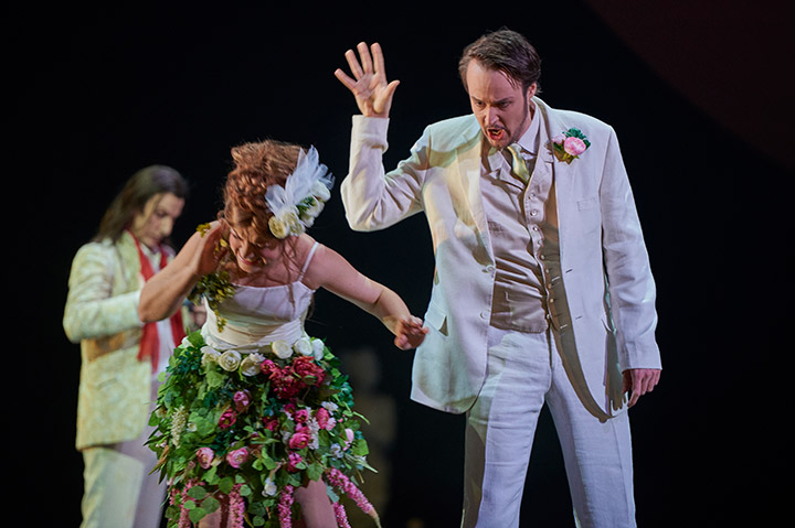 Don Giovanni  Theresa Grabner, Till von Orlowksy, Martin Achrainer © Thomas M. Jauk