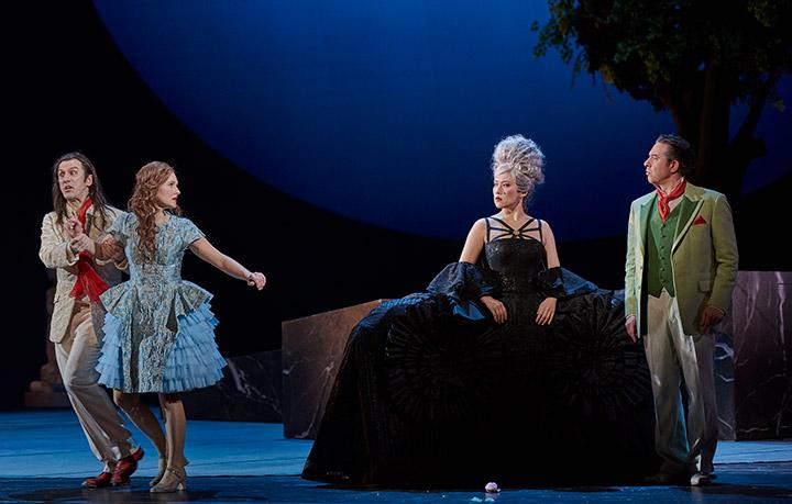 Don Giovanni  Martin Achrainer, Martha Hirschmann, Myung Joo Lee, Iurie Ciobanu © Thomas M. Jauk