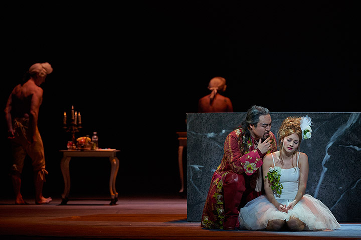 Don Giovanni  Seho Chang, Fenja Lukas © Thomas M. Jauk
