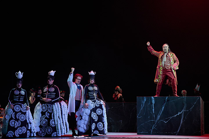 Don Giovanni  Myung Joo Lee, Jacques le Roux, Michael Wagner, Gotho Griesmeier, Seho Chang © Thomas M. Jauk