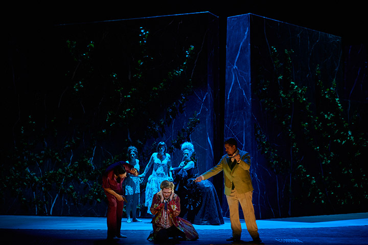 Don Giovanni  Till von Orlowsky, Michael Wagner, Jacques le Roux, Fenja Lukas, Gotho Griesmeier, Myung Joo Lee © Thomas M. Jauk