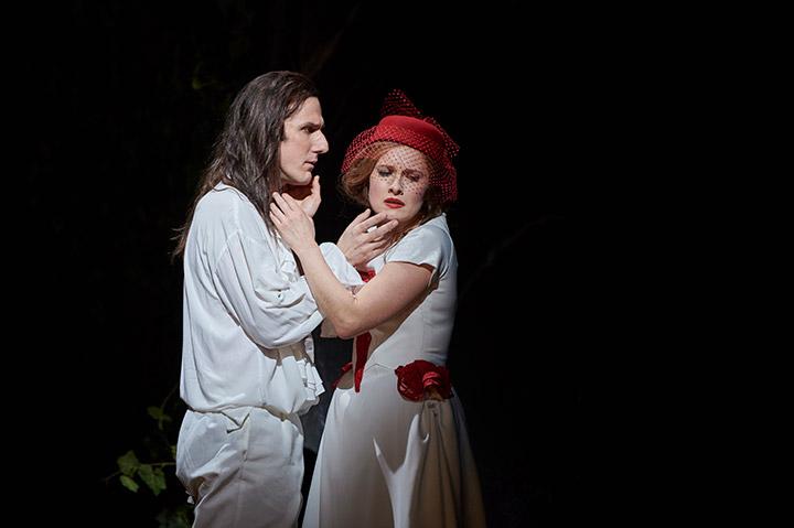 Don Giovanni  Martin Achrainer, Martha Hirschmann © Thomas M. Jauk