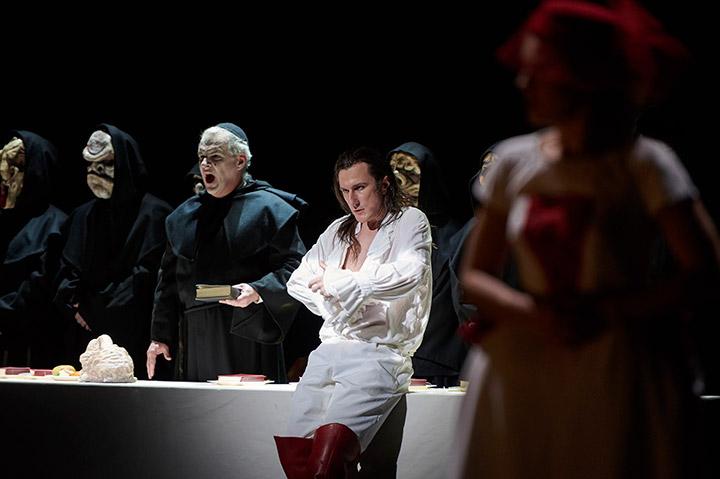 Don Giovanni  Nikolai Galkin, Martin Achrainer, Martha Hirschmann © Thomas M. Jauk