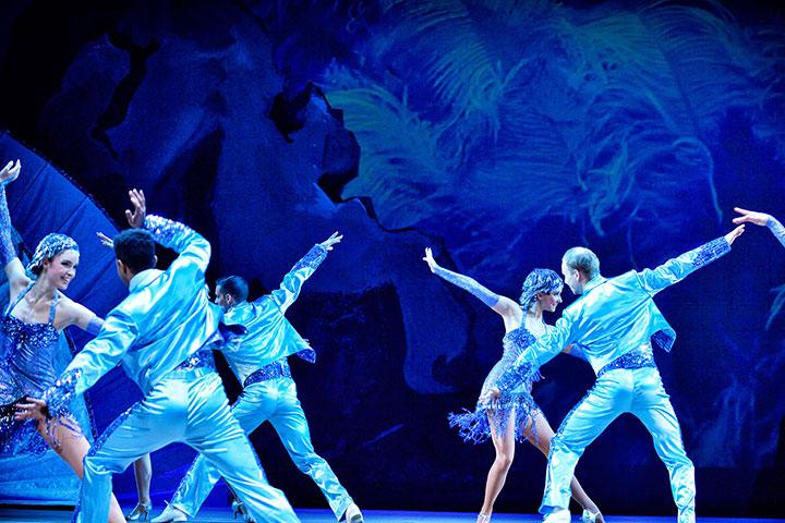 Im Weißen Rössl Tanzensemble © Patrick Pfeiffer