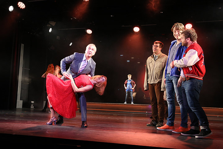 The Full Monty Daniela Dett, Hans Neblung, Johannes Herndler, Riccardo Greco, Alen Hodzovic, André Haedicke © Reinhard Winkler