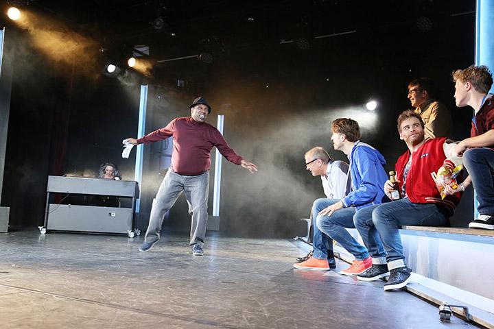 The Full Monty  Eric Lee Johnson, Hans Neblung, Alen Hodzovic, André Haedicke, Riccardo Greco, Johannes Herndler © Reinhard Winkler
