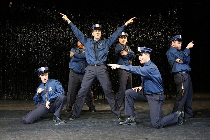 The Full Monty Rob Pelzer, Eric Lee Johnson, Alen Hodzovic, Hans Neblung, Riccardo Greco, André Haedicke © Reinhard Winkler