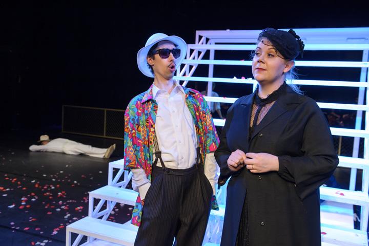 Leonce und Lena  Rastislav Lalinsky, Isabell Czarnecki © Jörg Metzner