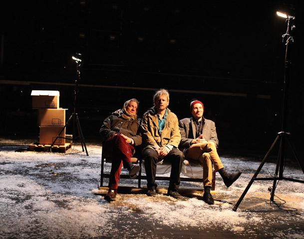 Ein Volksfeind  Lutz Zeidler, Alexander Hetterle, Sven Mattke © Christian Brachwitz