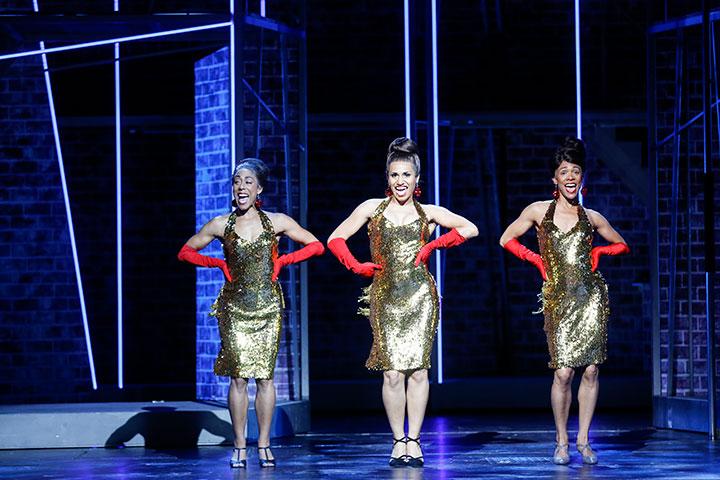 Hairspray Kudra Owens, Jane-Lynn Steinbrunn, Meimouna Coffi © Barbara Pálffy