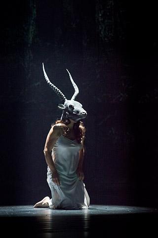 Die Frau ohne Schatten  Brigitte Geller © Norbert Artner
