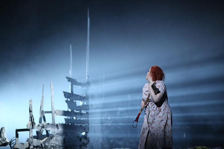 Die Frau ohne Schatten  Miina-Liisa Värelä © Reinhard Winkler