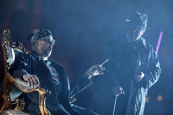 Rigoletto Dominik Nekel, Federico Longhi © Reinhard Winkler